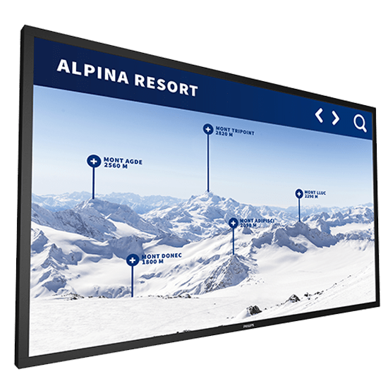 digital signage screen